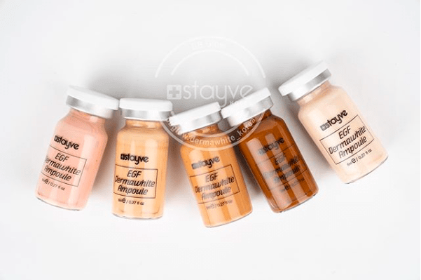 Stayve BB GLOW Foundation Colors