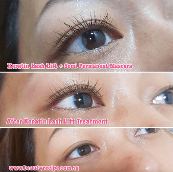Semi Permanent Mascara Beauty Recipe