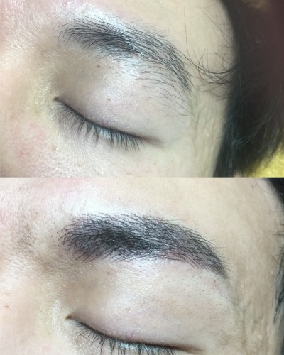 Eyebrow Embroidery Singapore for men