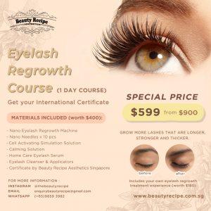eyelash regrowth training course