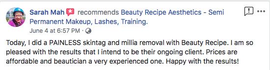 Mole Skin Tag Milla Seed Removal Singapore