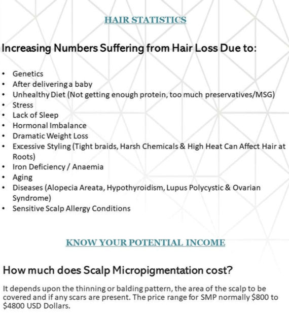 Scalp hairline micropigmenation 1