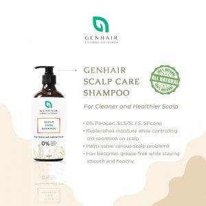Herbal scalp care shampoo