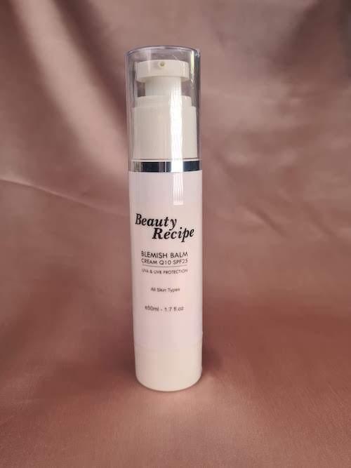 Beauty Recipe Blemish Balm Cream Tinted Sunblock with Q10 SPF 25