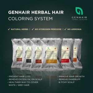 Herbal Hair Coloring Dye