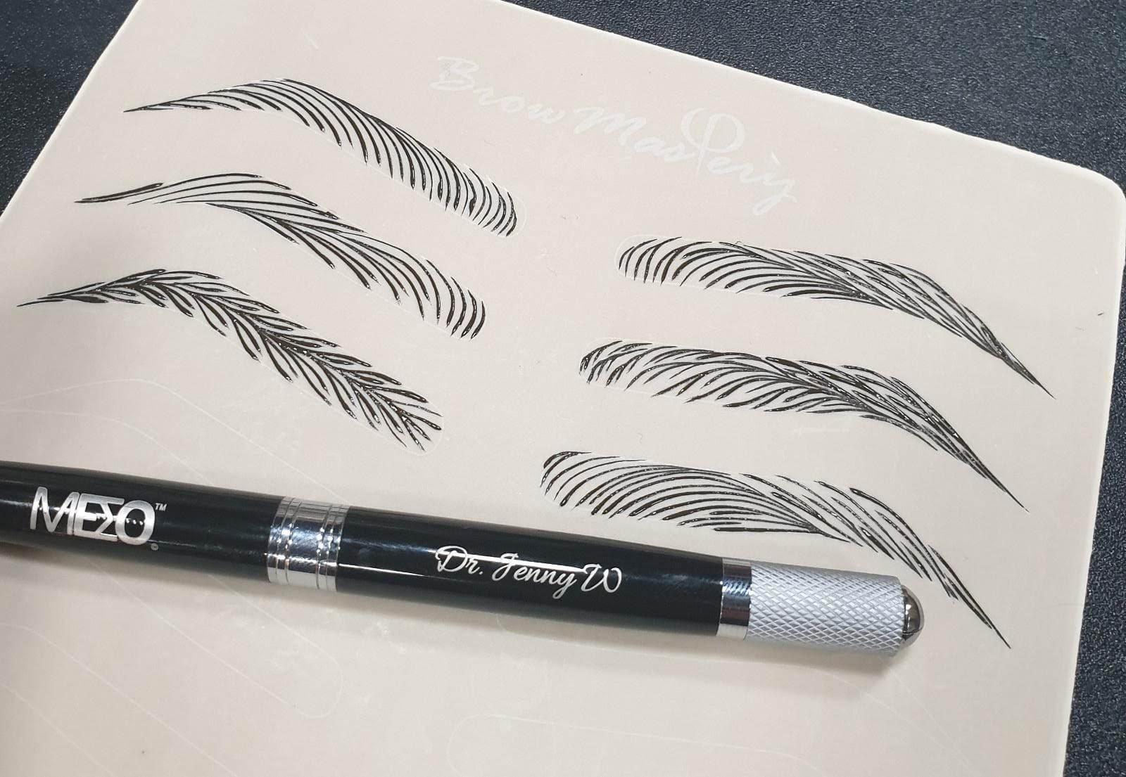 Advance Microblading Eyebrow Embroidery Course Singapore