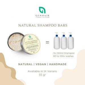 shampoo bar how many washes