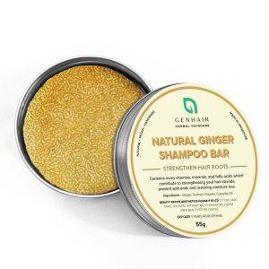 Natural Ginger shampoo bar