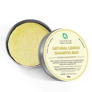 Natural Lemon shampoo bar