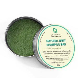 Natural Mint shampoo bar