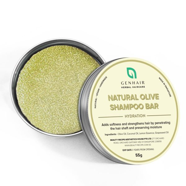 Natural Olive shampoo bar