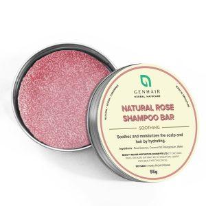 Natural Orange Rose shampoo bar