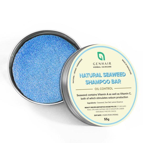 Natural Seaweed shampoo bar