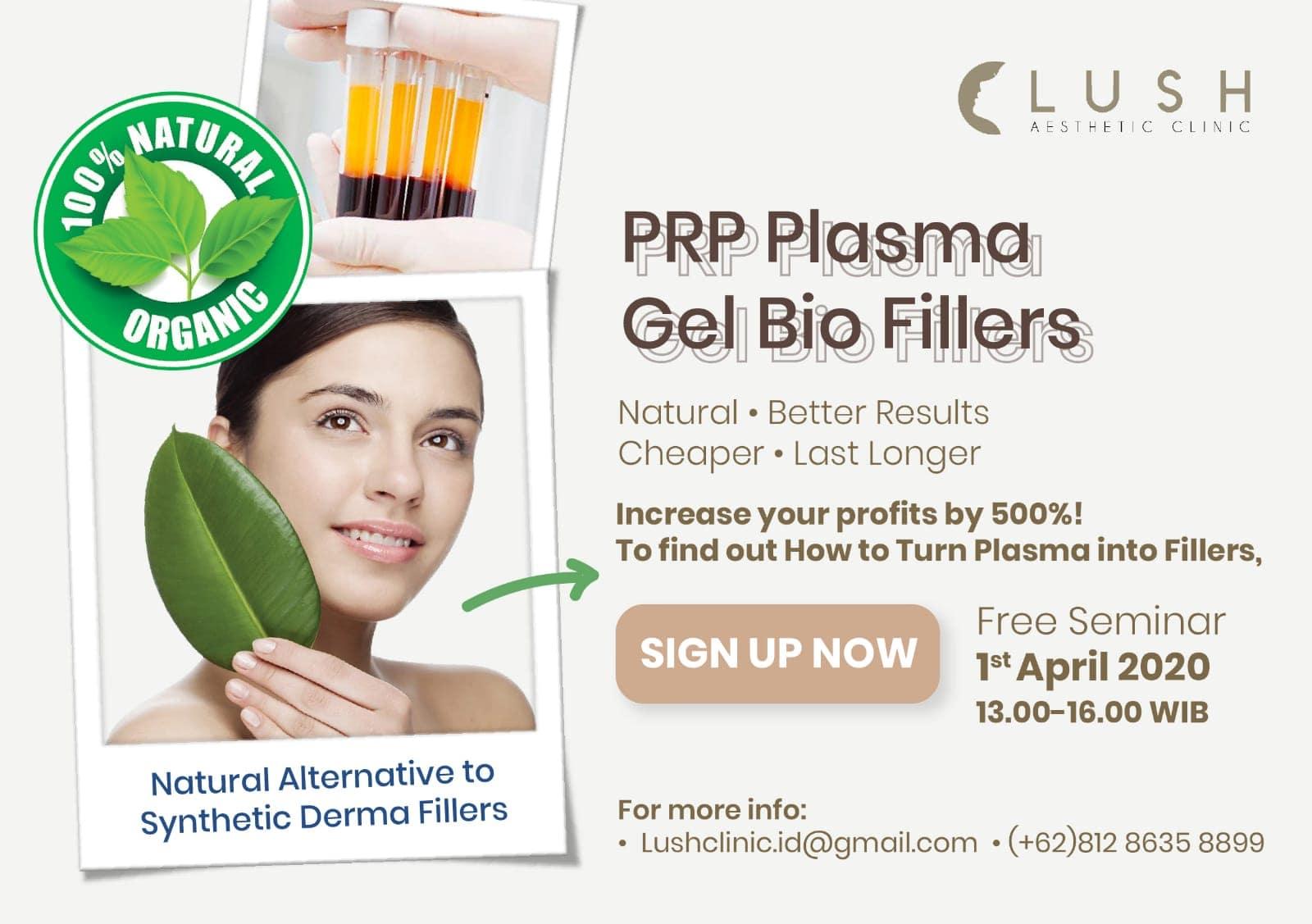 PRP Plasma Gel Bio Fillers Training Course