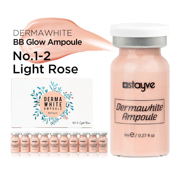 Stayve Dermawhite BB Glow Ampoule No.1-2 Light Rose