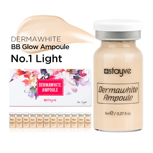 Stayve Dermawhite BB Glow Ampoule No.1 Light singapore