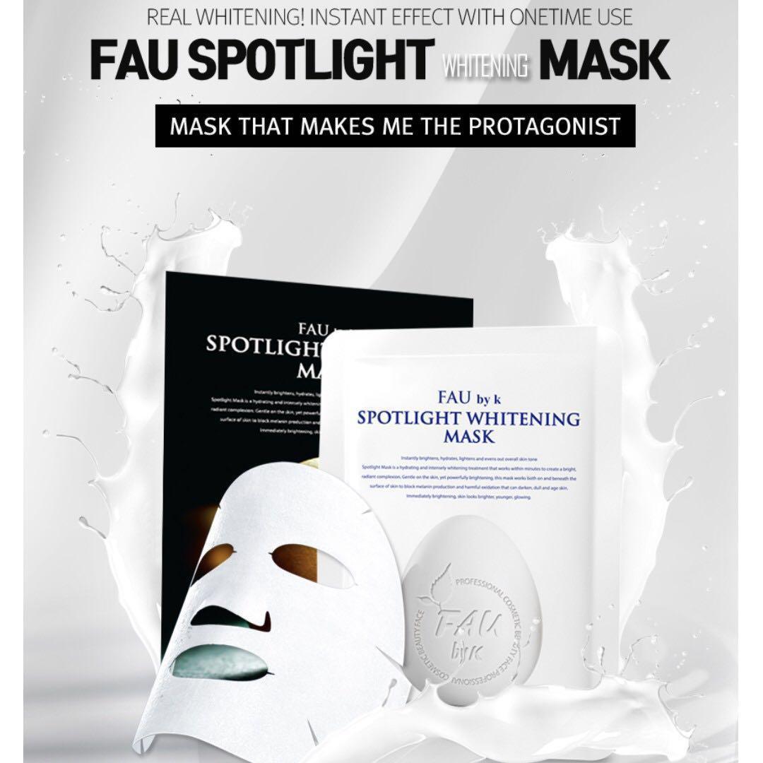 FAU Spotlight Whitening Mask Korea