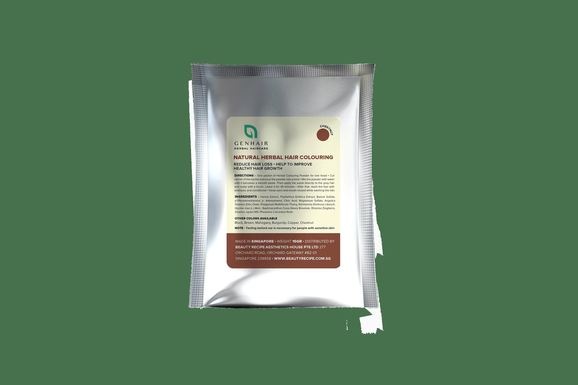 Herbal Hair Colouring Chestnut 15g