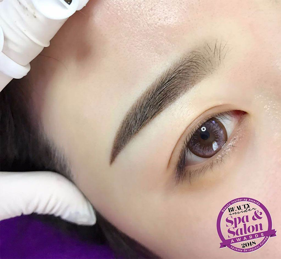 Top Eyebrow Embroidery Singapore