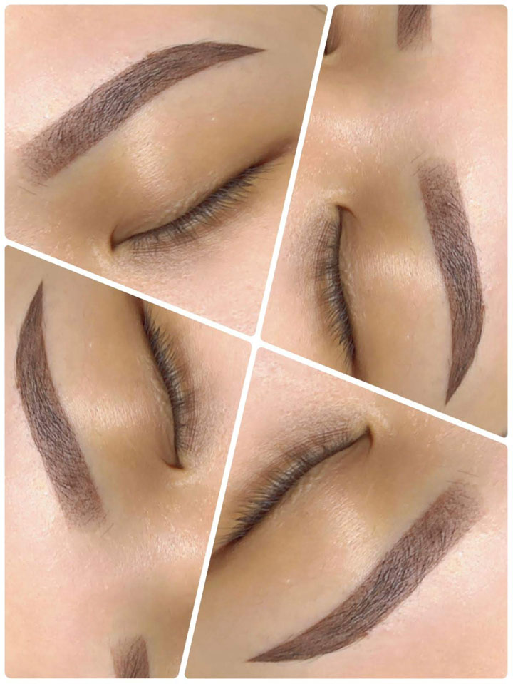 3D Creative Eyebrow Embroidery singapore
