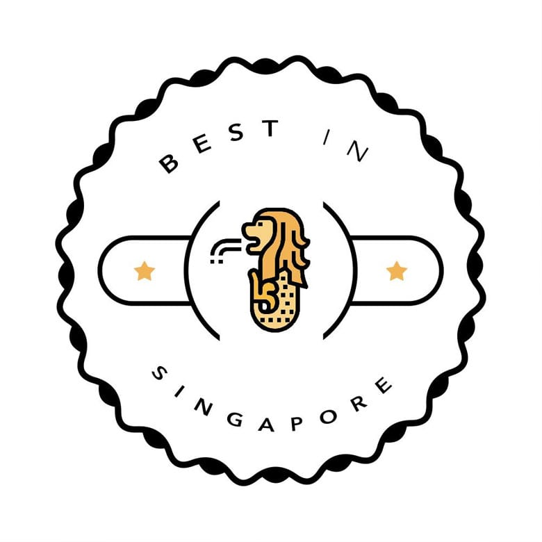Best beauty salon in Singapore Badge