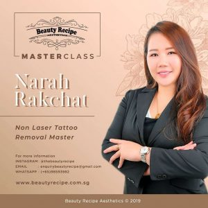Non laser tattoo phiremoval training course singapore