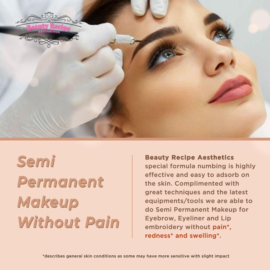 Eyebrow Embroidery Singapore | Semi Permanent Makeup