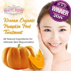 Korean organic pumpkin peel treatment facial training course singapore