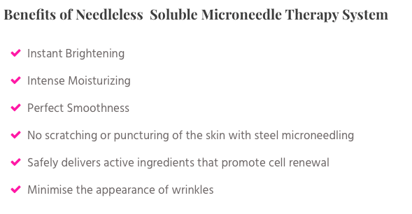 Benefits of smts microneedling therapy system