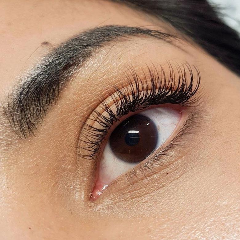 Natural Single Eyelash Extensions Singapore
