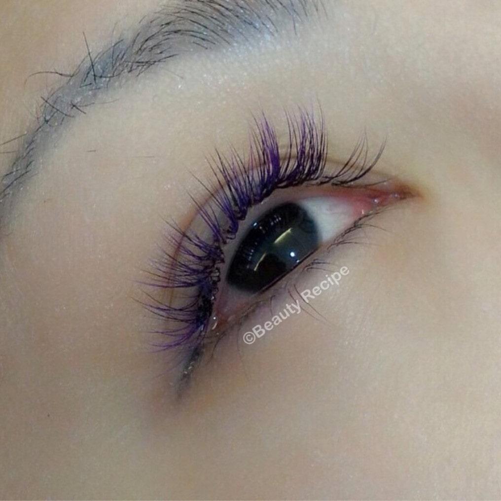 colored eyelash extensions Singapore