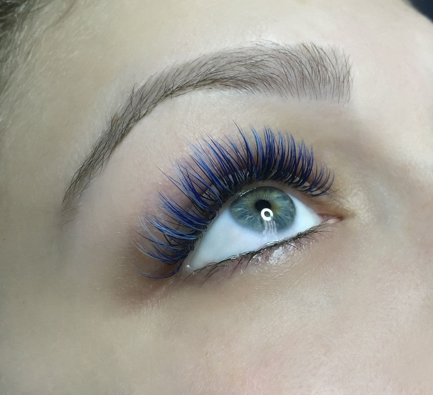 colored eyelash extensions Singapore
