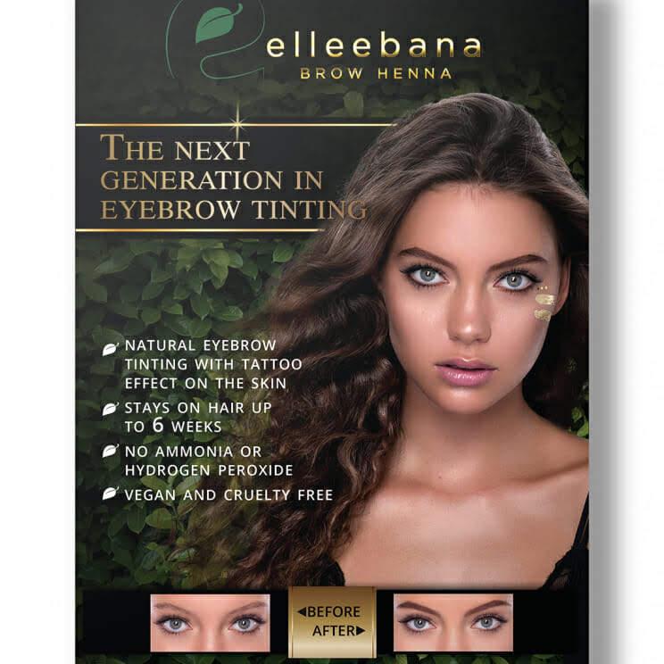 Elleebana Henna Eyebrow Tinting Singapore