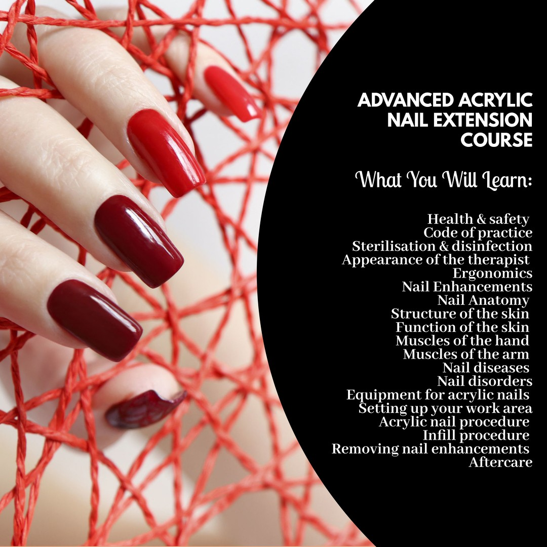 Advanced Acrylic Nails Extension Course Singapore