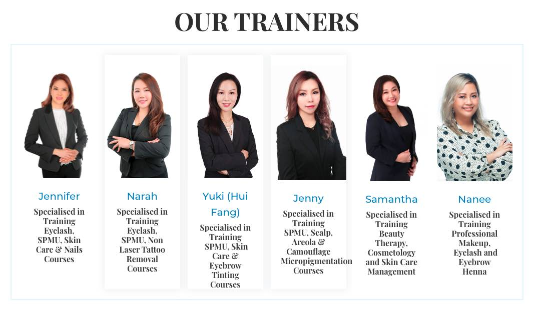 Beauty Master Trainers Courses