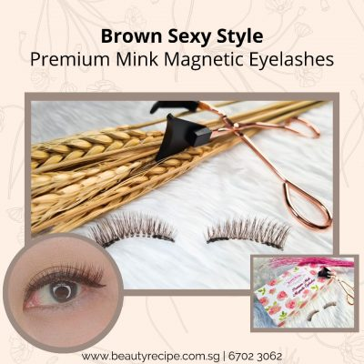Brown Sexy Style Magnetic Eyelashes
