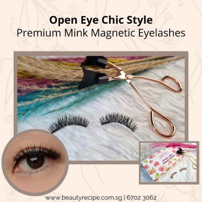 Open Eye Chic Style Magnetic Eyelashes