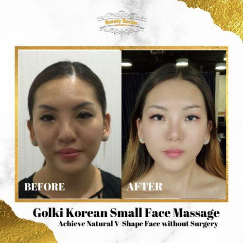Korean Golki Small Face Slimming Care Massage Singapore