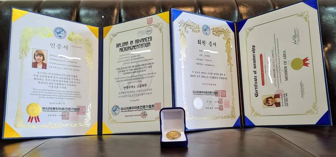 ABEA Korea Diploma Beauty Certificate Training Courses Singapore
